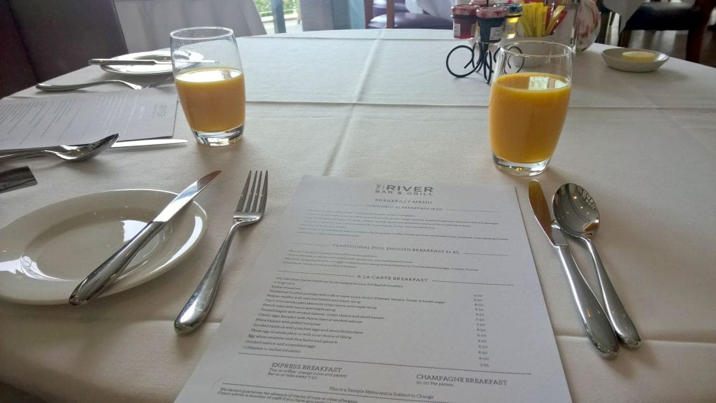 The Lowry Hotel Manchester Frühstück 4