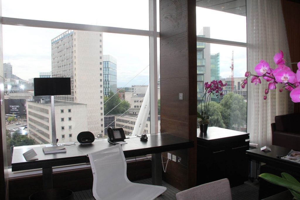 The Lowry Hotel Manchester Suite Ausblick