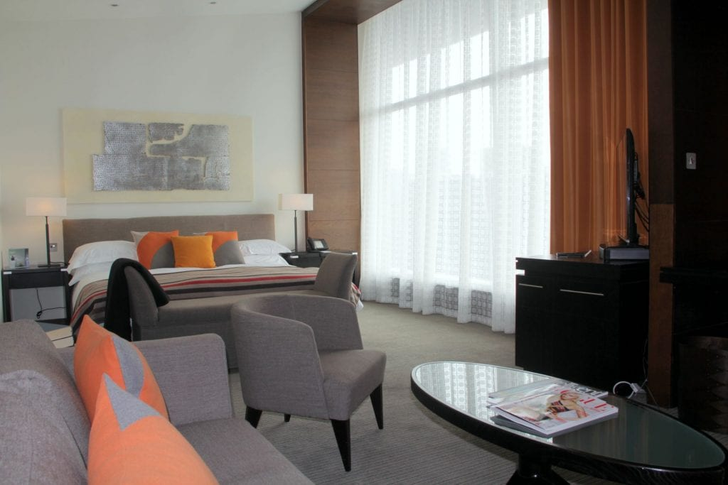 The Lowry Hotel Manchester Suite Schlafzimmer 2