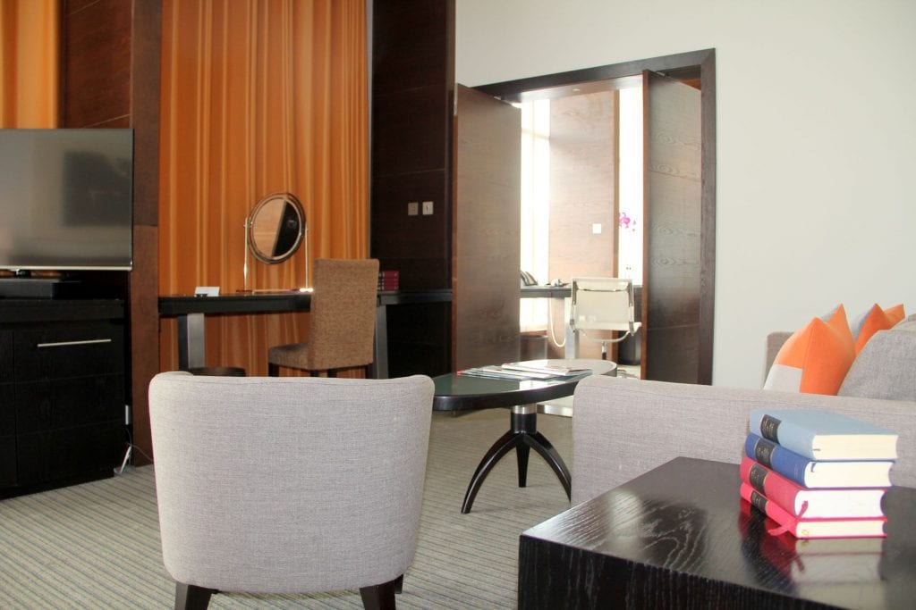 The Lowry Hotel Manchester Suite Wohzimmer 5