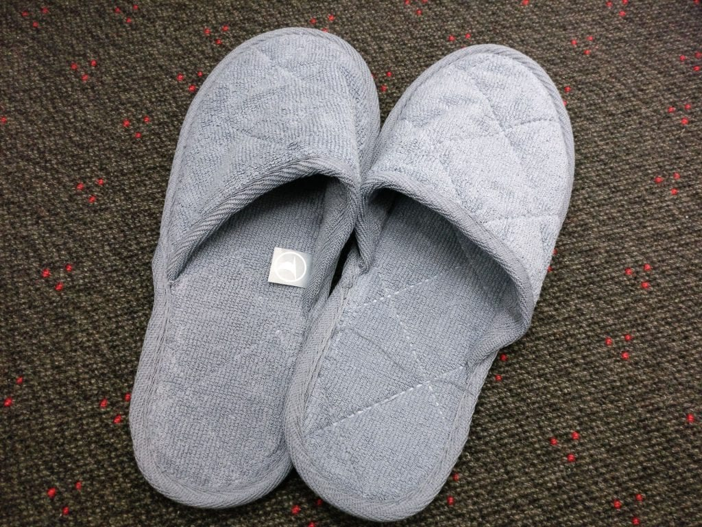 Turkish Airlines Business Class Airbus 330 Slippers