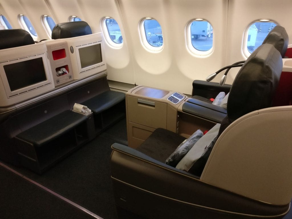 Turkish Airlines Business Class Airbus A330 300 Seat 2