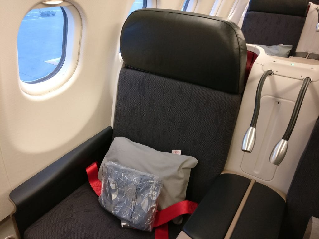 Turkish Airlines Business Class Airbus A330 300 Seat 9