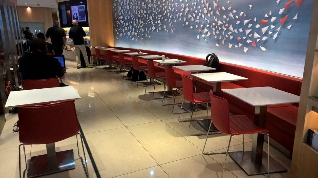 air canada maple leaf lounge frankfurt restaurant