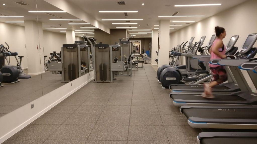 doubltree krakau fitness 1