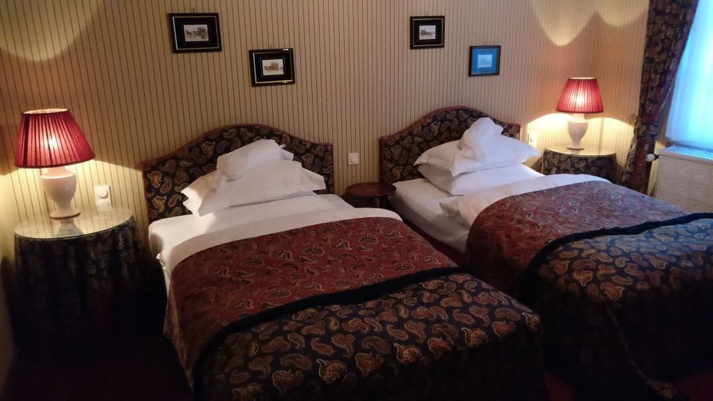 hotel die hirschgasse heidelberg suite schalfzimmer