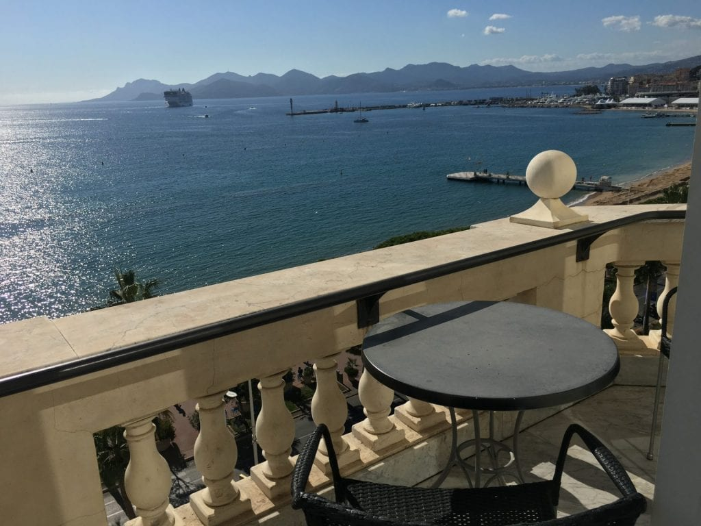 intercontinental carlton cannes balkon