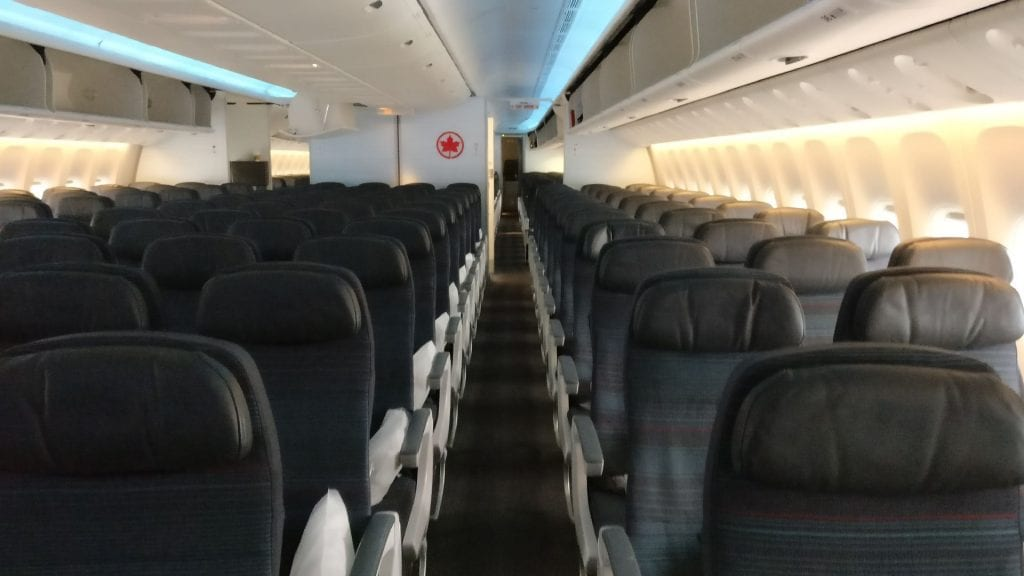 Air Canada Economy Class Boeing 777 300ER Seating