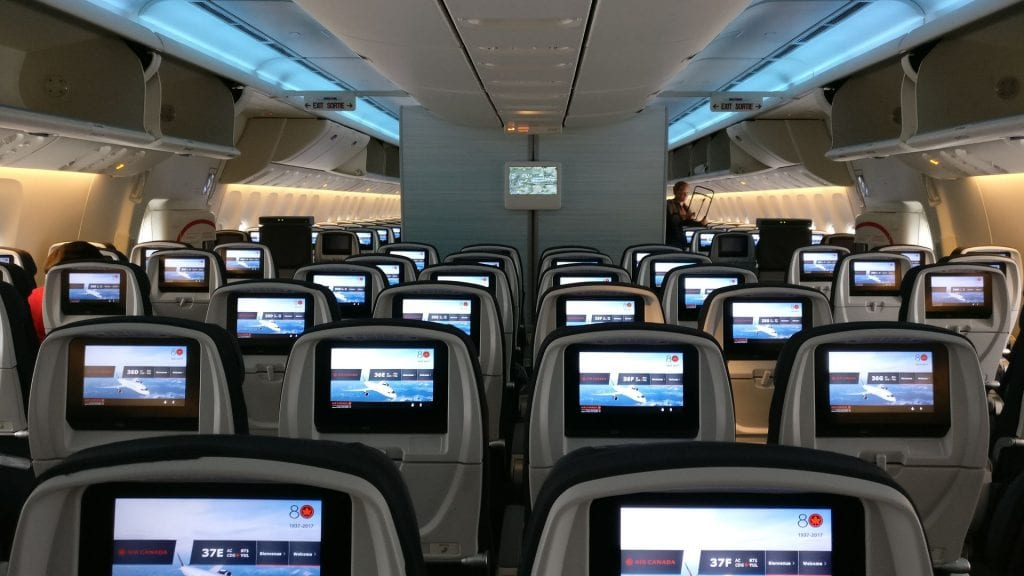 Air Canada Economy Class Boeing 777 300ER Seating 2