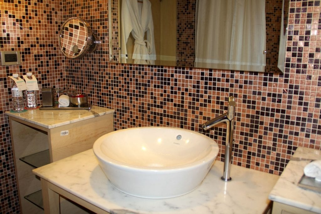Bathroom Le Méridien New Delhi