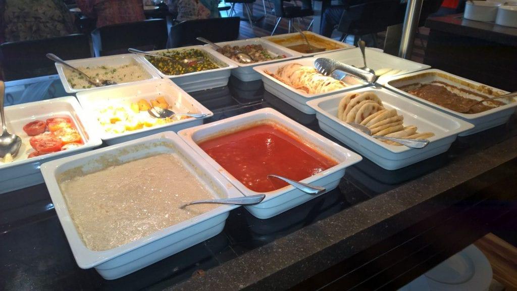 Breakfast Le Méridien New Delhi 5