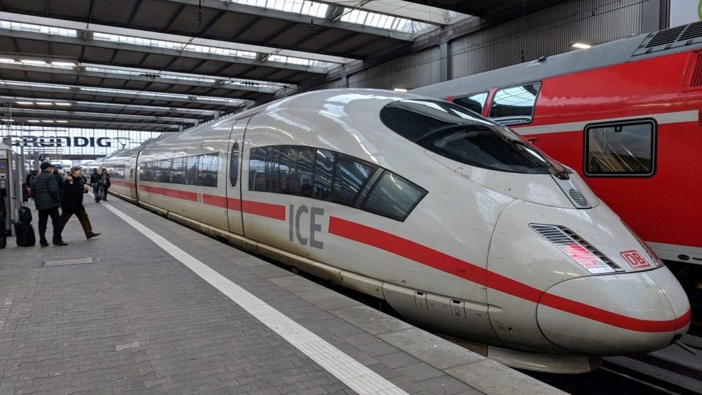 DB Bahn ICE 3 München Hbf