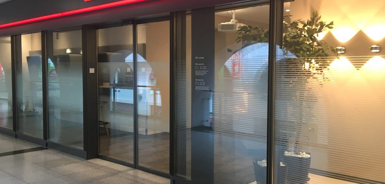 DB Lounge Nürnberg Eingang