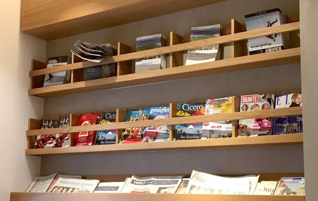DB Lounge Nürnberg Zeitschriften