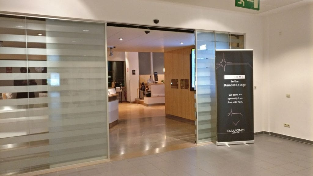 Diamond Lounge Brüssel A Eingang
