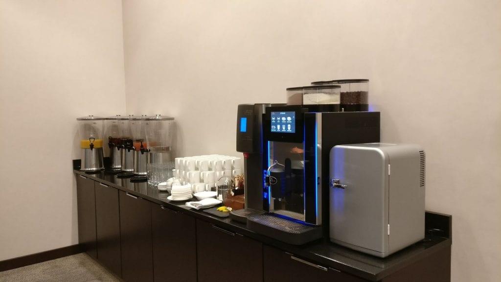 Hilton Garden Inn Krakau Airport Frühstück Kaffee