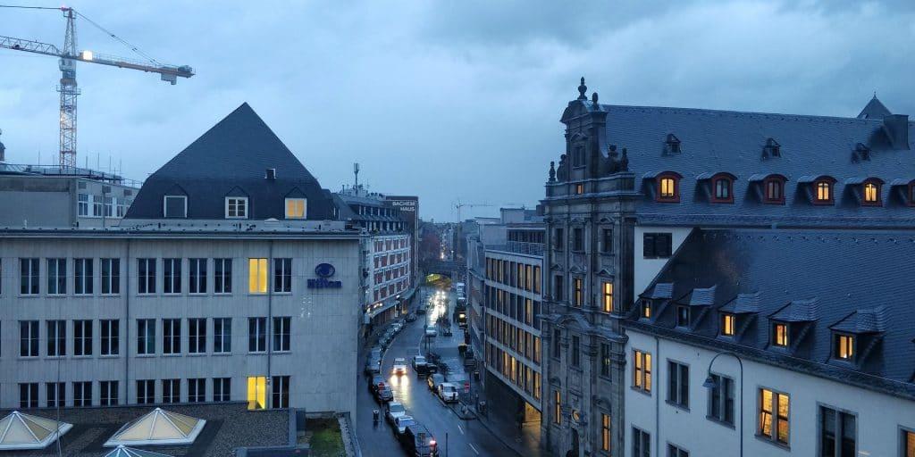 Hilton Köln Ausblick