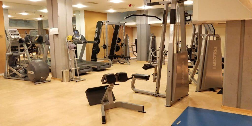 Hilton Köln Fitness 3