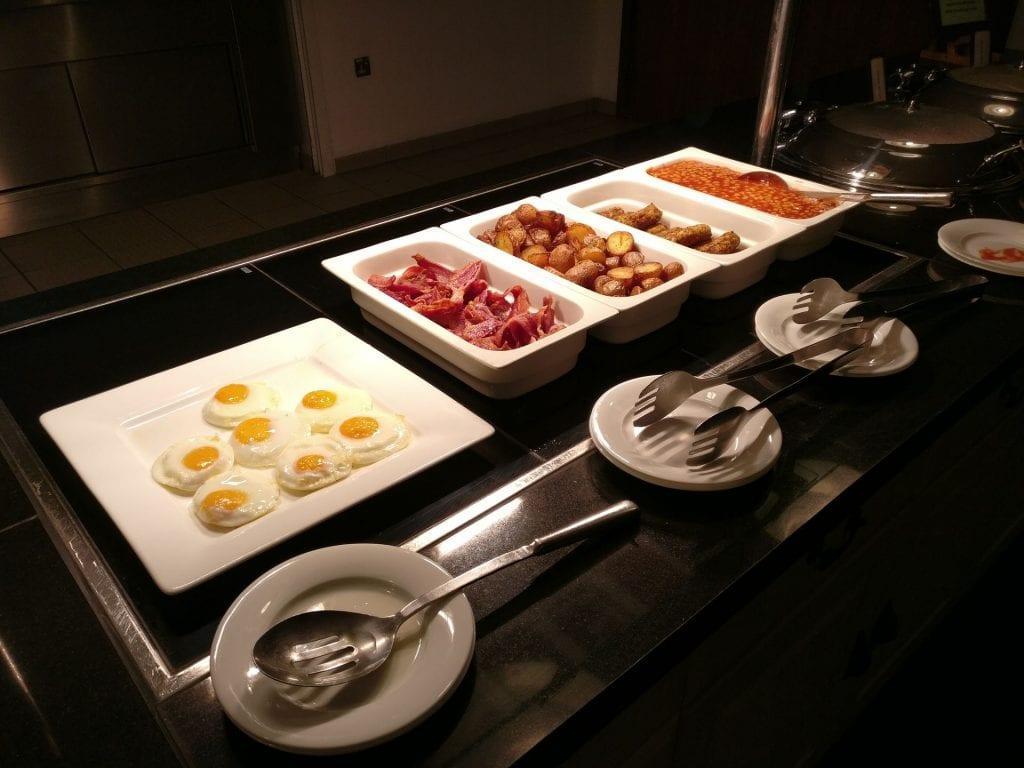 Hilton London Heathrow Terminal 5 Breakfast 8