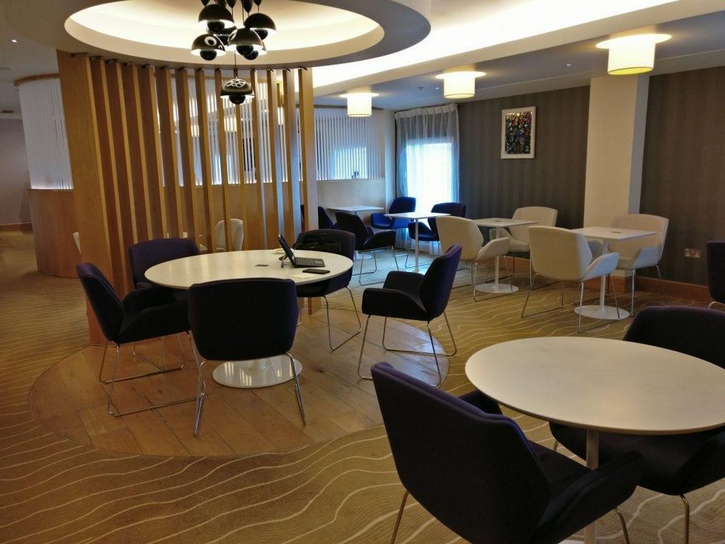 Hilton London Heathrow Terminal 5 Executive Lounge 2