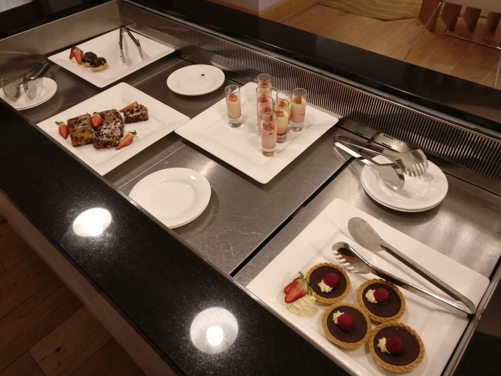 Hilton London Heathrow Terminal 5 Executive Lounge Afternoon Tea