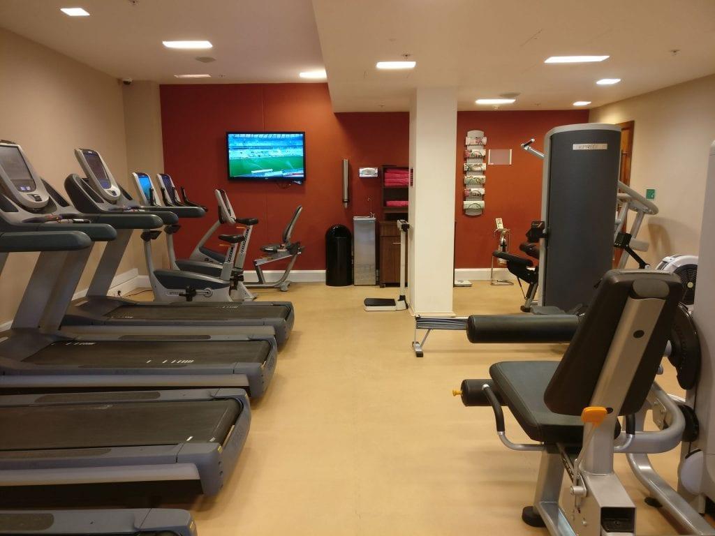 Hilton London Heathrow Terminal 5 Gym 2