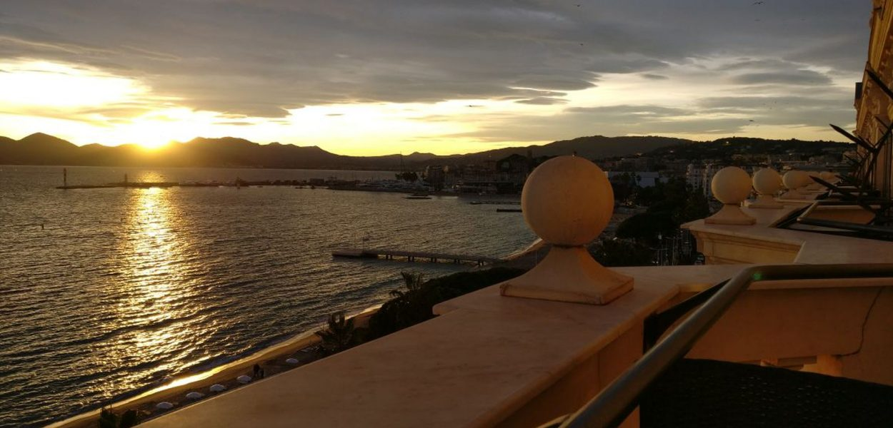 InterContinental Carlton Cannes Sunset