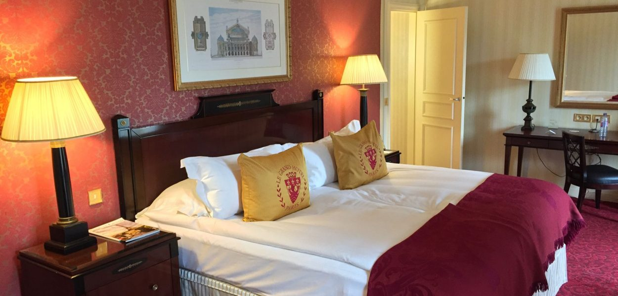 InterContinental Paris Le Grand Superior Zimmer