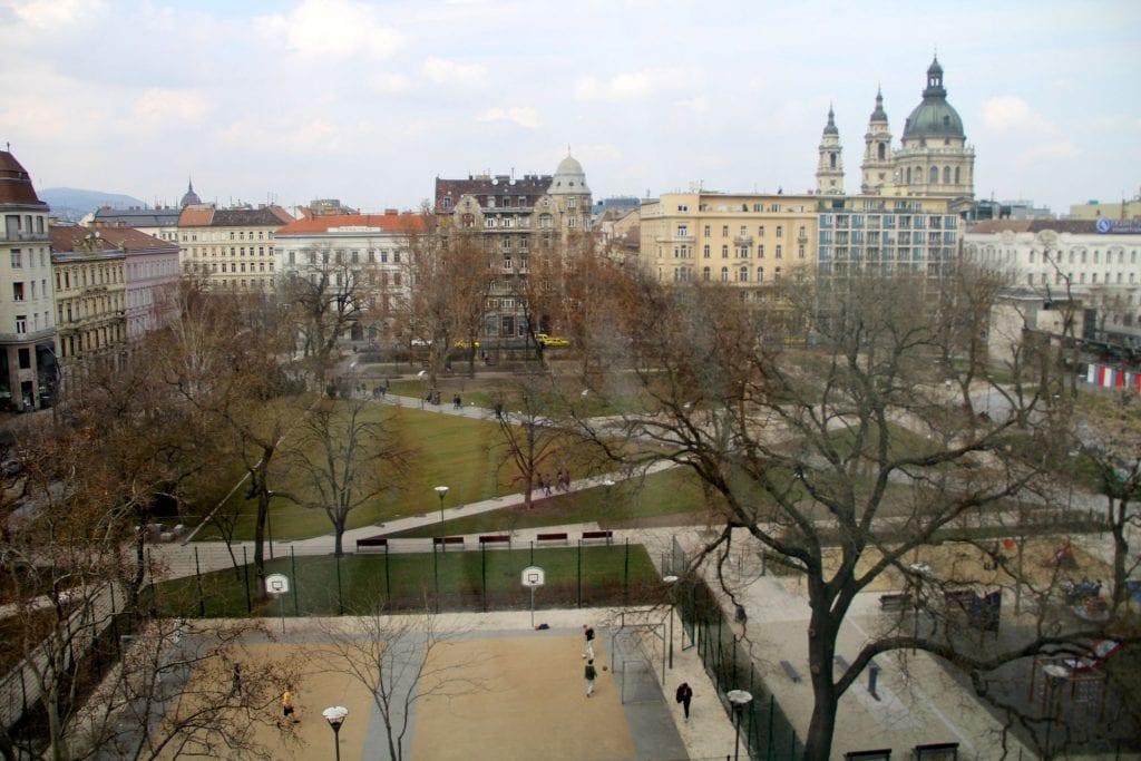 Kempinski Hotel Corvinus Budapest Deluxe Zimmer Ausblick