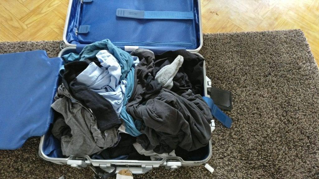Koffer Rimowa Wäsche Voll