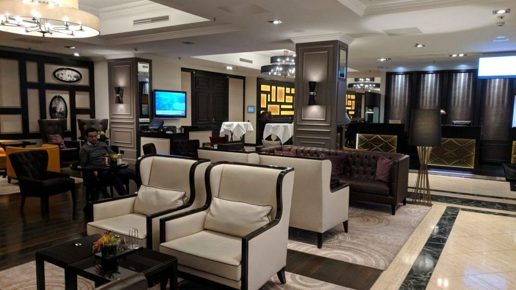 Marriott Hamburg Lobby
