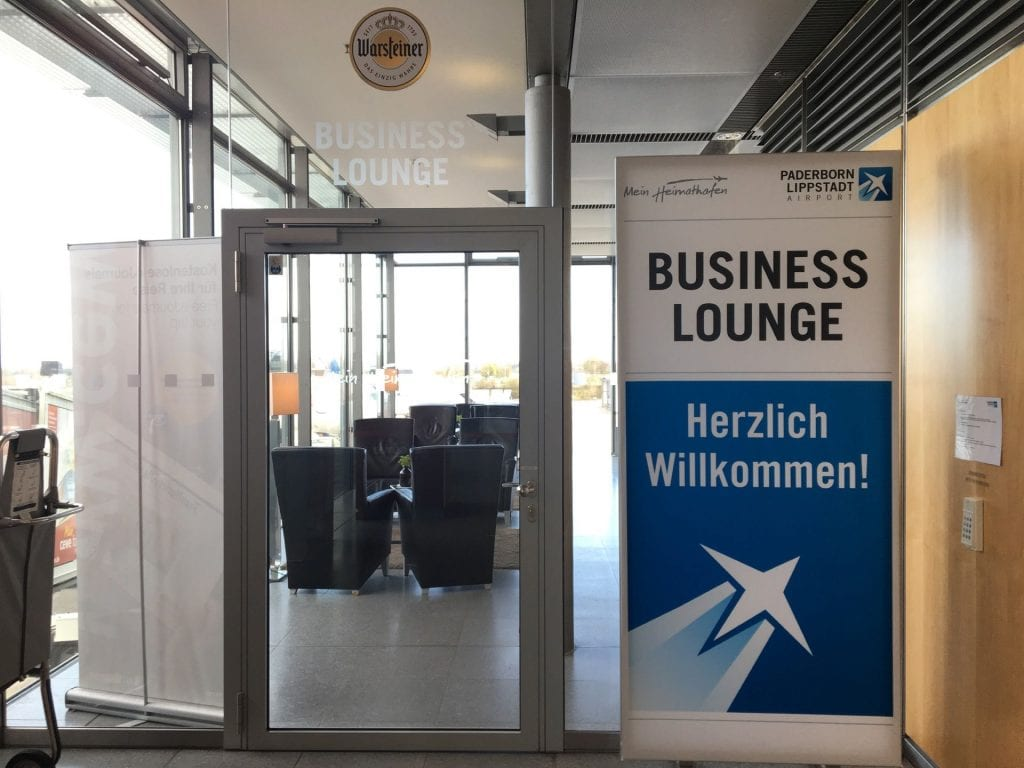 Paderborn Business Lounge Eingang