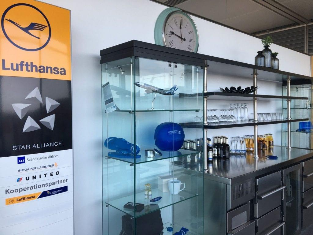Paderborn Business Lounge Getränke