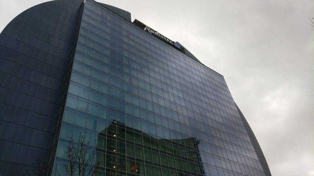 Radisson Blu Frankfurt Gebäude