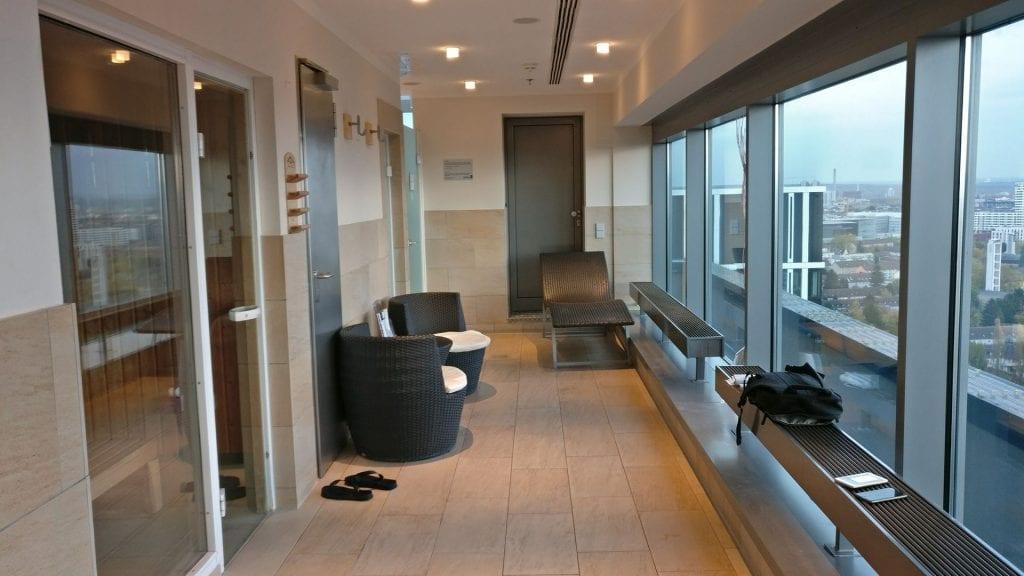 Radisson Blu Frankfurt Sauna Entspannung