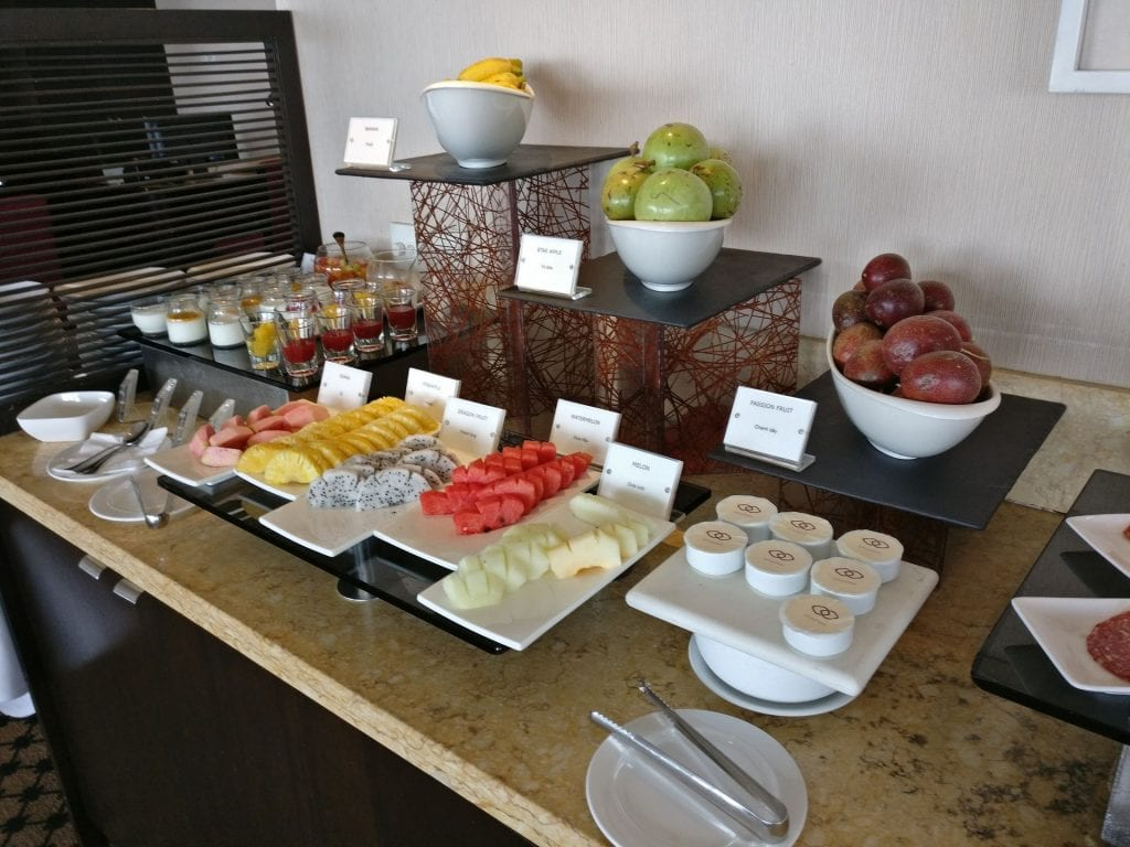 Sofitel Saigon Plaza Club Breakfast