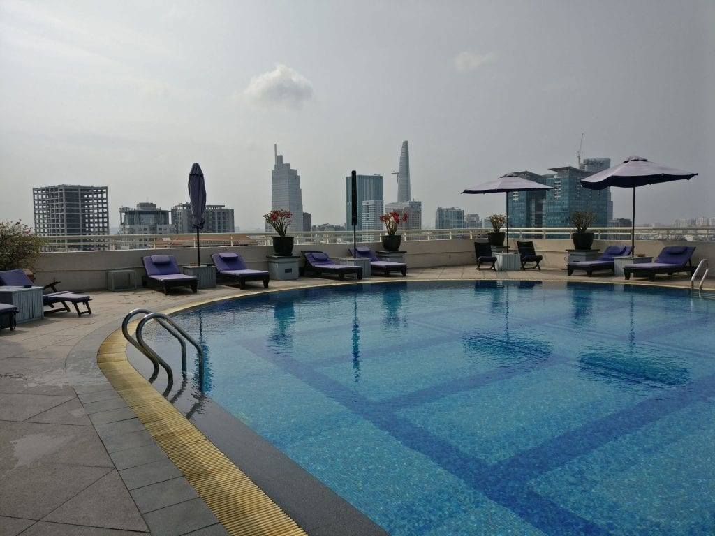Sofitel Saigon Plaza Pool 2