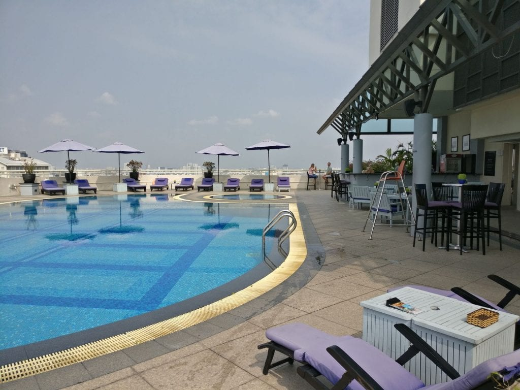 Sofitel Saigon Plaza Pool 4