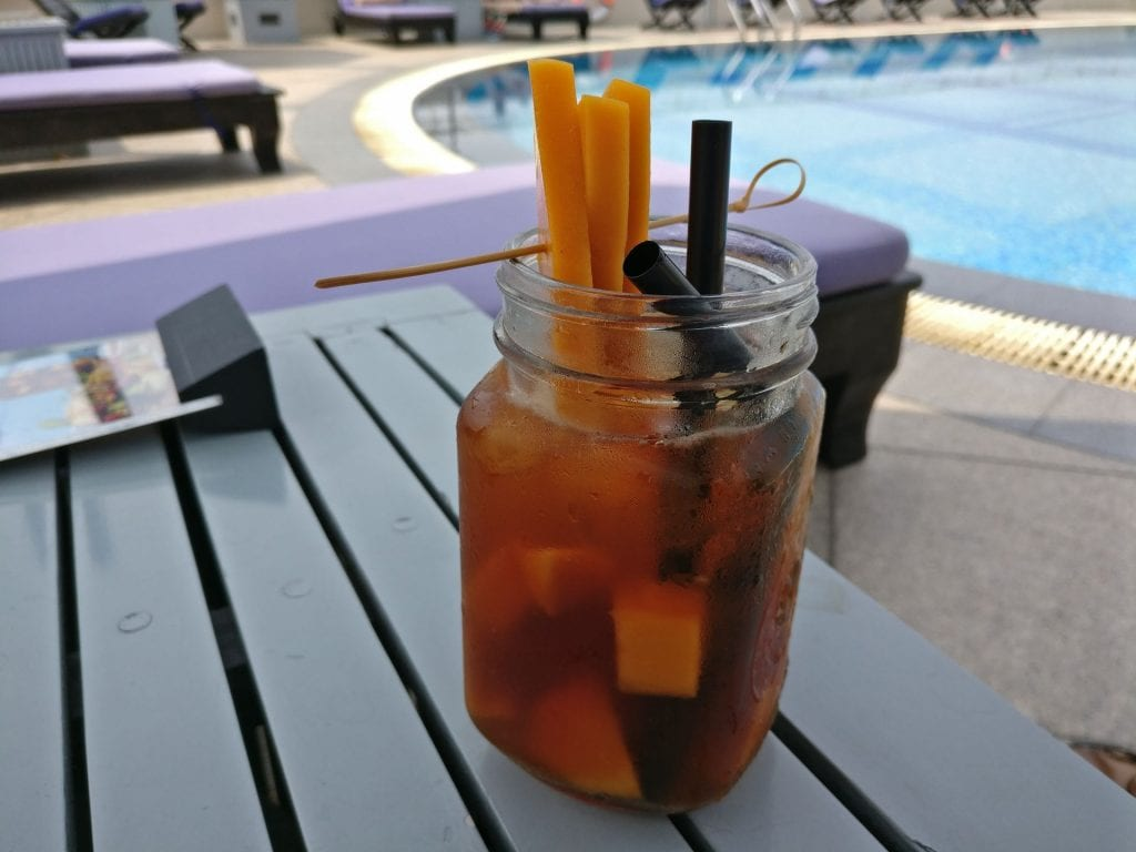 Sofitel Saigon Plaza Pool Drink