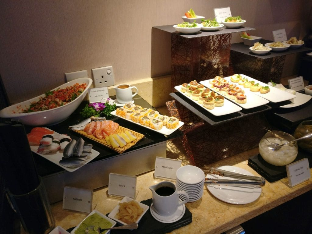 Sofitel Saigon Plaza Superior Club Evening Spread 2