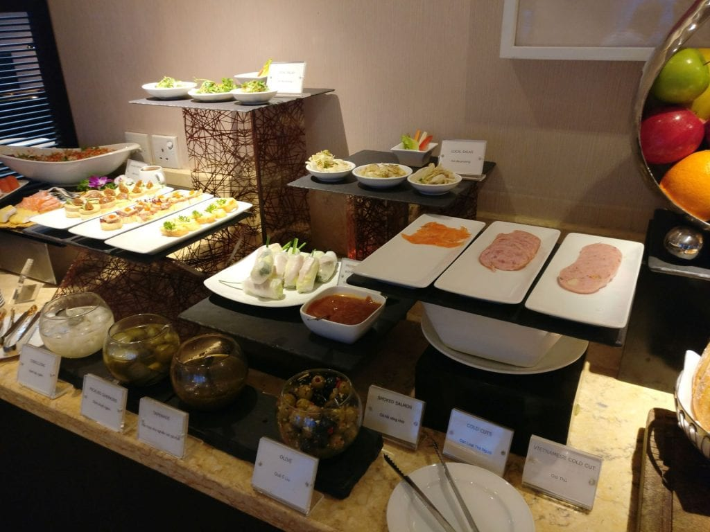 Sofitel Saigon Plaza Superior Club Evening Spread 5