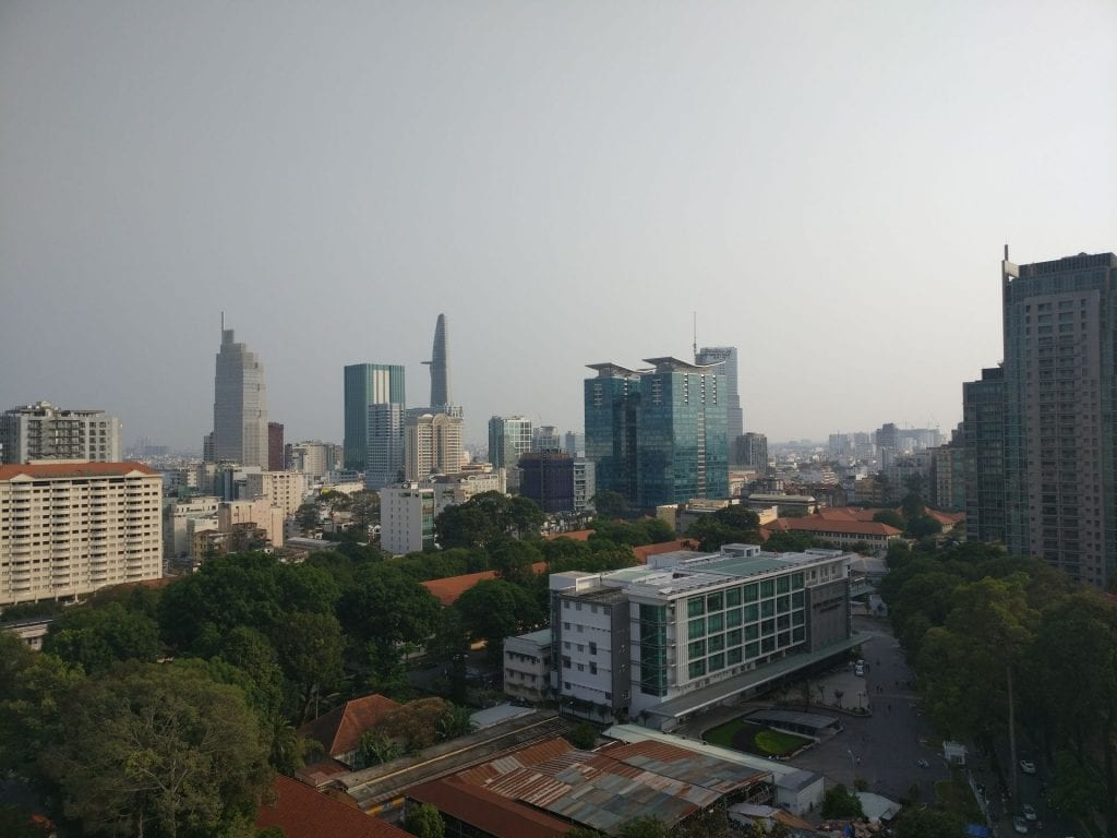 Sofitel Saigon Plaza Superior Club Room View 2