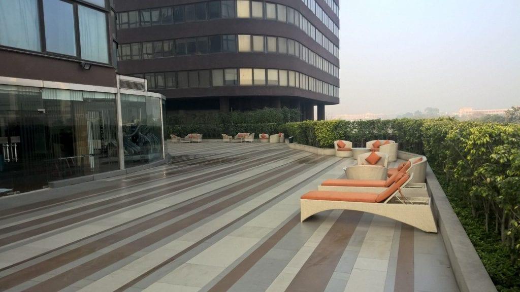 Terrace Le Méridien New Delhi 2