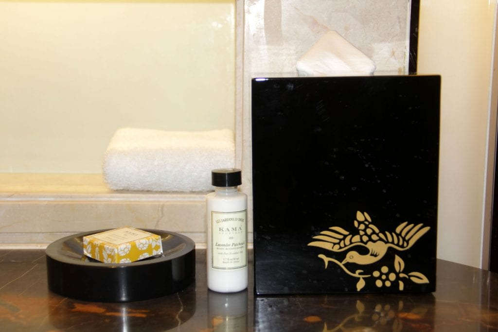 Toiletries Shangri La Bengaluru