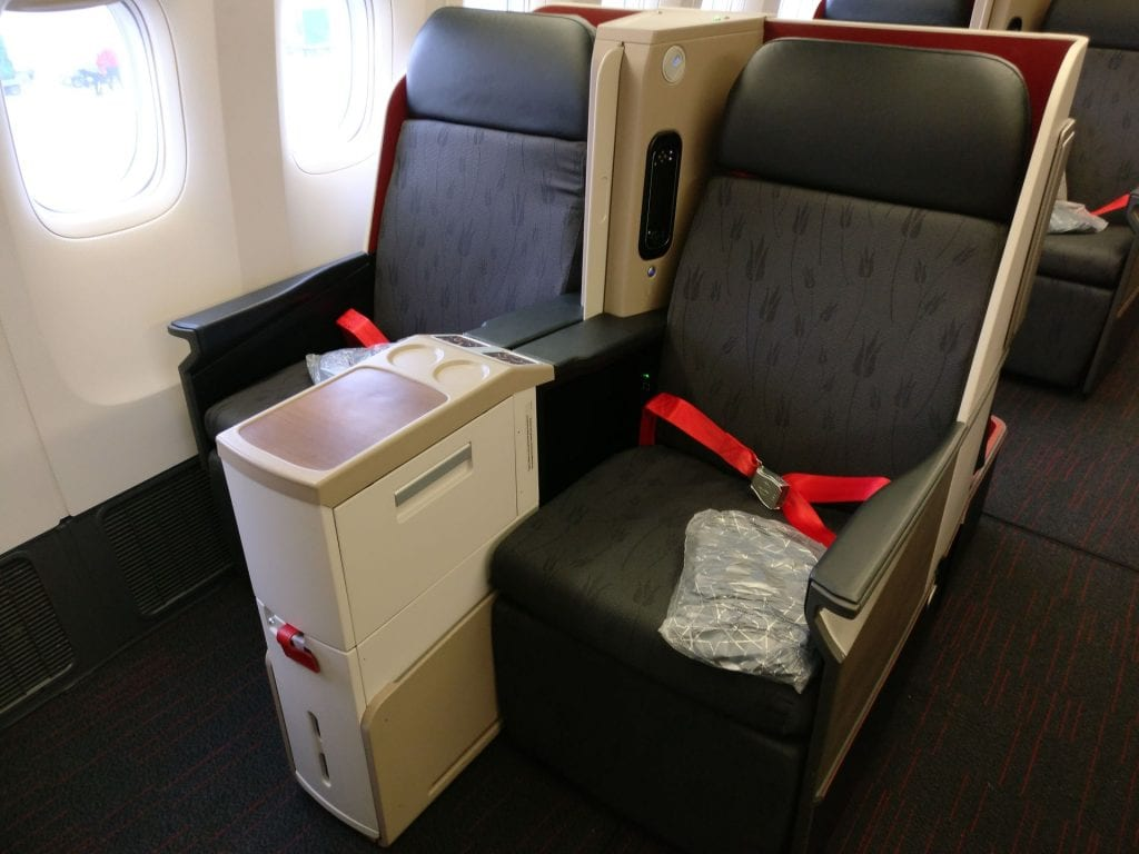 Turkish Airlines Business Class Boeing 777 Seating