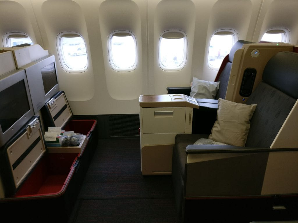 Turkish Airlines Business Class Boeing 777 Seating 6