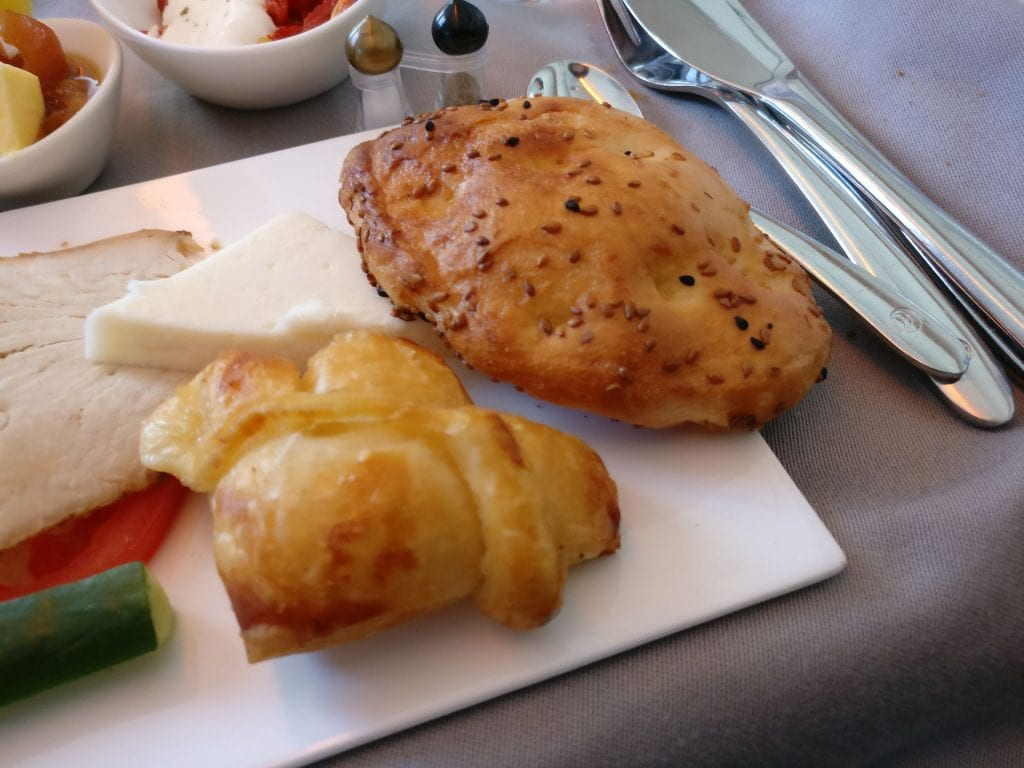 Turkish Airlines Business Class Breakfast 3