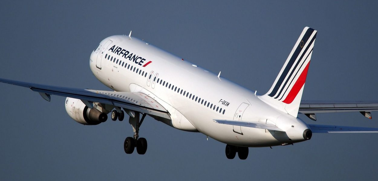 air france airbus abflug