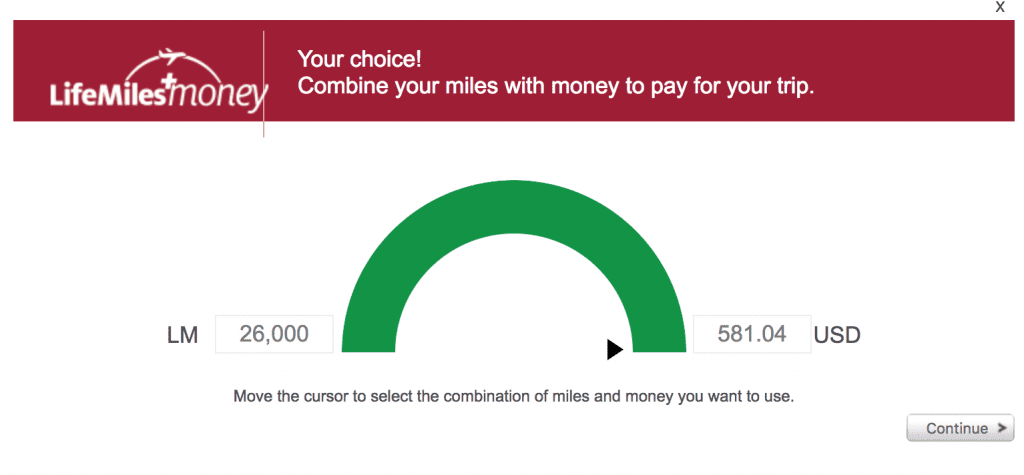 avianca life miles einlösen cash and miles