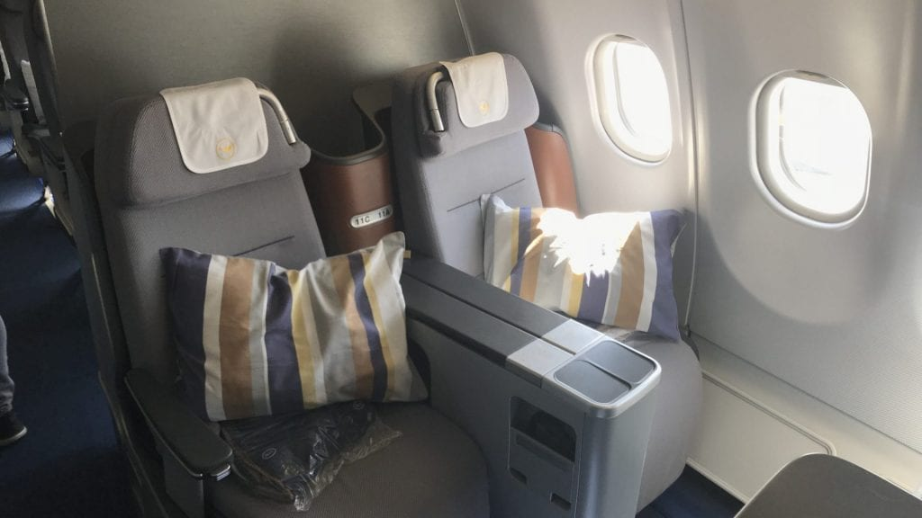 Lufthansa myoffer Upgrades Business Class Langstrecke